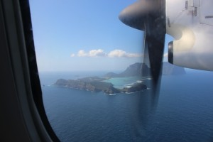 lord howe from plane