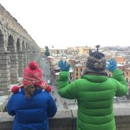 Segovia with kids