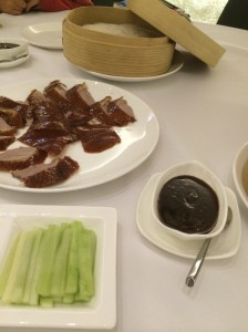 Peking duck, Hong Kong