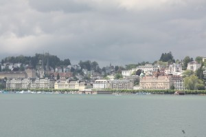 approaching lucerne
