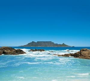 Cape Town's spectacular coastal scenery