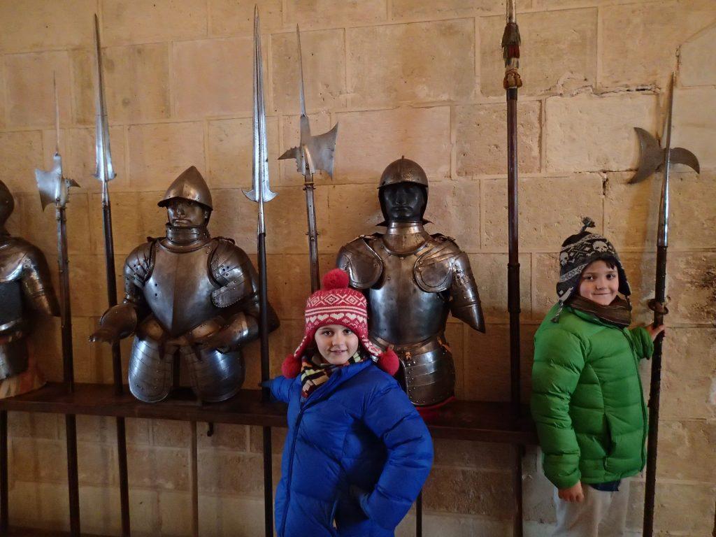 Segovia with kids